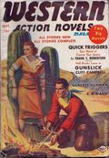 Western Action Novels Magazine (1936-1960 Columbia) 1st Series Pulp Vol. 3 #4
