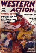Western Action Novels Magazine (1936-1960 Columbia) 1st Series Pulp Vol. 5 #1