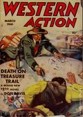 Western Action Novels Magazine (1936-1960 Columbia) 1st Series Pulp Vol. 6 #3