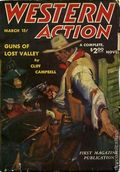 Western Action Novels Magazine (1936-1960 Columbia) 1st Series Pulp Vol. 7 #1