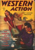 Western Action Novels Magazine (1936-1960 Columbia) 1st Series Pulp Vol. 7 #4