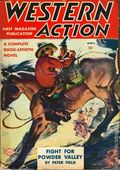 Western Action Novels Magazine (1936-1960 Columbia) 1st Series Pulp Vol. 8 #1