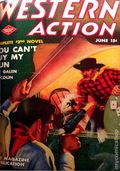 Western Action Novels Magazine (1936-1960 Columbia) 1st Series Pulp Vol. 8 #2