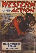 Western Action Novels Magazine (1936-1960 Columbia) 1st Series Pulp Vol. 8 #6