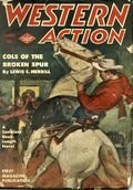 Western Action Novels Magazine (1936-1960 Columbia) 1st Series Pulp Vol. 9 #1