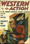 Western Action Novels Magazine (1936-1960 Columbia) 1st Series Pulp Vol. 9 #3