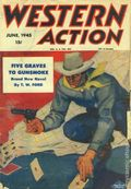 Western Action Novels Magazine (1936-1960 Columbia) 1st Series Pulp Vol. 9 #6