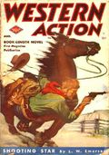 Western Action Novels Magazine (1936-1960 Columbia) 1st Series Pulp Vol. 11 #6