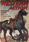Western Action Novels Magazine (1936-1960 Columbia) 1st Series Pulp Vol. 12 #2