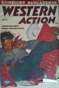 Western Action Novels Magazine (1936-1960 Columbia) 1st Series Pulp Vol. 12 #5