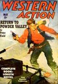 Western Action Novels Magazine (1936-1960 Columbia) 1st Series Pulp Vol. 13 #4