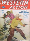 Western Action Novels Magazine (1936-1960 Columbia) 1st Series Pulp Vol. 13 #6