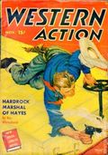 Western Action Novels Magazine (1936-1960 Columbia) 1st Series Pulp Vol. 14 #1