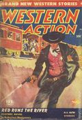 Western Action Novels Magazine (1936-1960 Columbia) 1st Series Pulp Vol. 17 #3