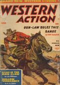 Western Action Novels Magazine (1936-1960 Columbia) 1st Series Pulp Vol. 18 #1