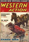 Western Action Novels Magazine (1936-1960 Columbia) 1st Series Pulp Vol. 18 #2