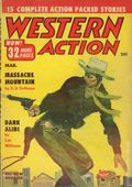 Western Action Novels Magazine (1936-1960 Columbia) 1st Series Pulp Vol. 19 #5