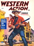 Western Action Novels Magazine (1936-1960 Columbia) 1st Series Pulp Vol. 21 #1