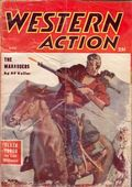 Western Action Novels Magazine (1936-1960 Columbia) 1st Series Pulp Vol. 21 #3