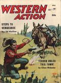 Western Action Novels Magazine (1936-1960 Columbia) 1st Series Pulp Vol. 22 #1