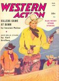 Western Action Novels Magazine (1936-1960 Columbia) 1st Series Pulp Vol. 22 #5