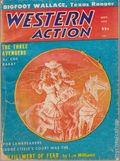 Western Action Novels Magazine (1936-1960 Columbia) 1st Series Pulp Vol. 23 #2