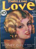 Thrilling Love (1931-1955 Metropolitan-Standard) Pulp Vol. 1 #3