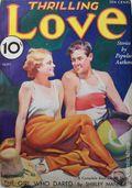 Thrilling Love (1931-1955 Metropolitan-Standard) Pulp Vol. 3 #2