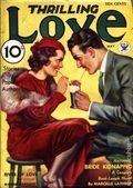 Thrilling Love (1931-1955 Metropolitan-Standard) Pulp Vol. 10 #1