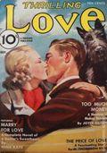Thrilling Love (1931-1955 Metropolitan-Standard) Pulp Vol. 20 #1