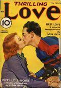 Thrilling Love (1931-1955 Metropolitan-Standard) Pulp Vol. 24 #3