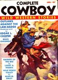 Complete Cowboy Novel Magazine (1939-1950 Blue Ribbon Magazines) Pulp Vol. 1 #1