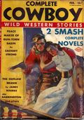 Complete Cowboy Novel Magazine (1939-1950 Blue Ribbon Magazines) Pulp Vol. 3 #1