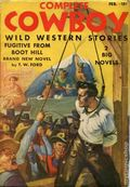 Complete Cowboy Novel Magazine (1939-1950 Blue Ribbon Magazines) Pulp Vol. 3 #4