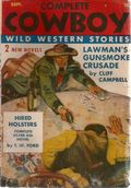Complete Cowboy Novel Magazine (1939-1950 Blue Ribbon Magazines) Pulp Vol. 3 #6