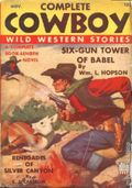 Complete Cowboy Novel Magazine (1939-1950 Blue Ribbon Magazines) Pulp Vol. 4 #2