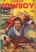 Complete Cowboy Novel Magazine (1939-1950 Blue Ribbon Magazines) Pulp Vol. 4 #4