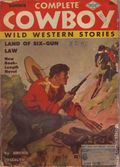 Complete Cowboy Novel Magazine (1939-1950 Blue Ribbon Magazines) Pulp Vol. 5 #4