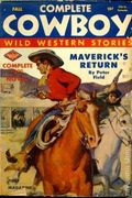 Complete Cowboy Novel Magazine (1939-1950 Blue Ribbon Magazines) Pulp Vol. 5 #5