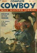 Complete Cowboy Novel Magazine (1939-1950 Blue Ribbon Magazines) Pulp Vol. 6 #1