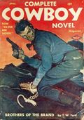 Complete Cowboy Novel Magazine (1939-1950 Blue Ribbon Magazines) Pulp Vol. 7 #2