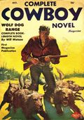 Complete Cowboy Novel Magazine (1939-1950 Blue Ribbon Magazines) Pulp Vol. 7 #4