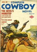 Complete Cowboy Novel Magazine (1939-1950 Blue Ribbon Magazines) Pulp Vol. 8 #4