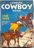 Complete Cowboy Novel Magazine (1939-1950 Blue Ribbon Magazines) Pulp Vol. 9 #1