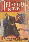 Complete Detective Novel (1928-1935 Teck/Radio-Science/Novel Magazine) Pulp 9