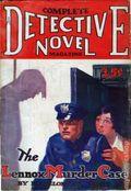 Complete Detective Novel (1928-1935 Teck/Radio-Science/Novel Magazine) Pulp 15