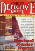 Complete Detective Novel (1928-1935 Teck/Radio-Science/Novel Magazine) Pulp 23