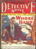 Complete Detective Novel (1928-1935 Teck/Radio-Science/Novel Magazine) Pulp 25