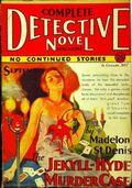 Complete Detective Novel (1928-1935 Teck/Radio-Science/Novel Magazine) Pulp 27