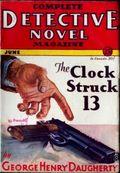 Complete Detective Novel (1928-1935 Teck/Radio-Science/Novel Magazine) Pulp 36